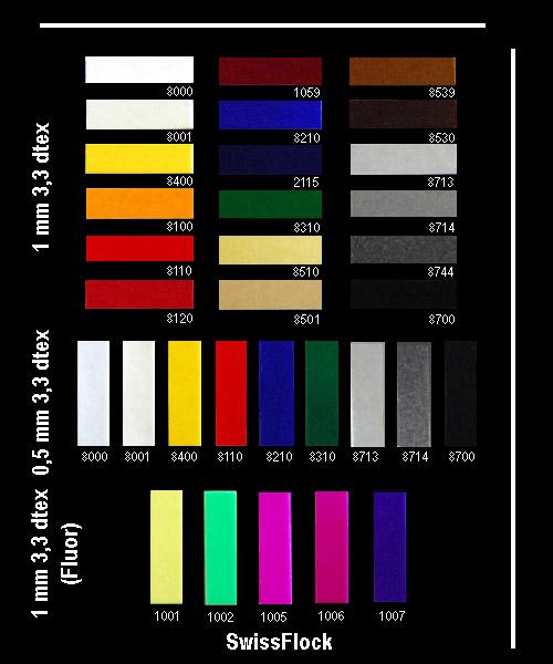 каталог цвета флока